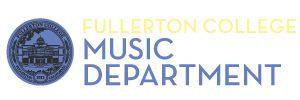 Fullerton College Music Department Logo